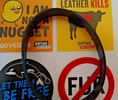 4 Peta Stickers I Am Not A Nugget Leather Kills Free Whales No Fur