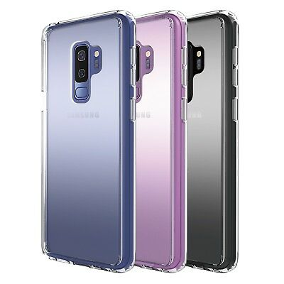 Slim Transparent Crystal Clear Hard TPU Case Cover For Samsung Galaxy S9/S9 Plus