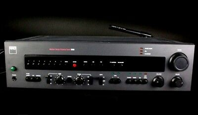 Vintage NAD Electronics 1700 Monitor Series Preamplifier AM FM Radio Tuner SLG
