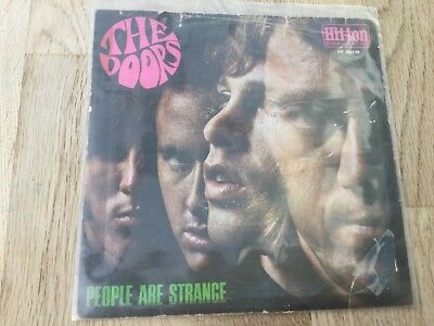 "The Doors - People are Strange ++ rare Hit-Ton psych/beat 7"" Single"