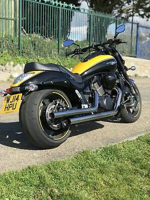 2014 suzuki vzr 1800 intruder motorcycle black and yellow. Black Bedroom Furniture Sets. Home Design Ideas