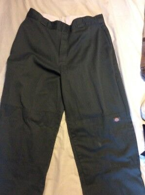 Men's Forest Green Dickies Outfit. Shirt Size XXL, Pants 36/32.