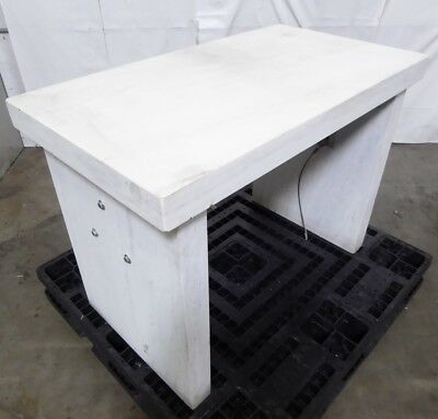 R148054 Marble Granite Balance Scale Isolation Anti-Vibration Table 43x24