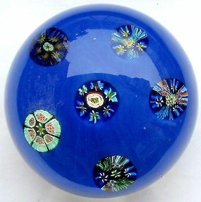 Very Large Murano Millefiori Paperweight  / Briefbeschwerer