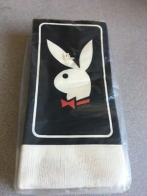 Vintage 80's New Sealed Playboy Bunny Dinner Napkins B-Day Bachelor Parties