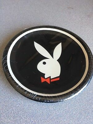"Vintage 80's New Sealed Playboy Bunny Party Plates 7"" B-Day Bachelor Parties"