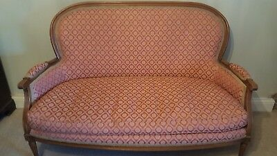 Antique, French sofa / chaise