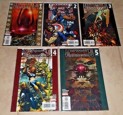 Ultimate Extinction 1, 2, 3, 4 & 5 of Six  (2006, Marvel)