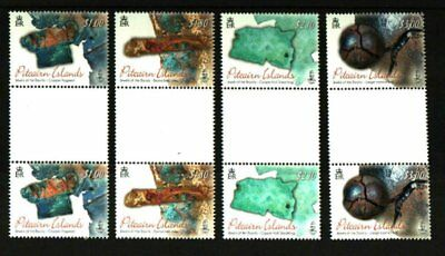 Pitcairn Islands 2018 Jewels Of The Bounty Gutter Pairs Mnh