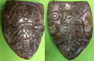"Rare Pre-Columbian ""Reptilian Stone"", Mexico, (Ojuelos) 5-7 thousand years old"