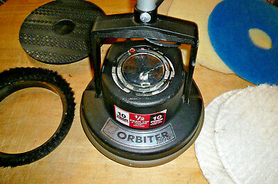 Oreck Orbiter Ultra Cleaner Commercial Floor Machine Model ORB700MB