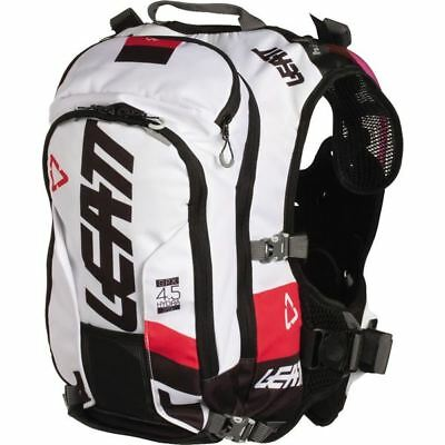Black/White Leatt GPX 4.5 Hydra Chest Protector