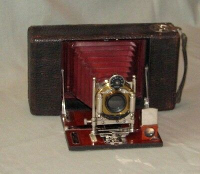 Ansco No. 7 Model C (Anthony & Scovill Co.) Camera made in 1907. Ser. #188.