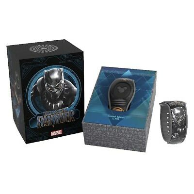 Disney Parks Magic Band Marvel Black Panther Limited Edition Magicband 2 New