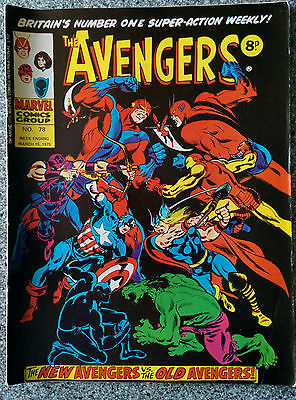 Marvel Comics - The Super-Heroes & The Avengers (both dated 15th March 1975