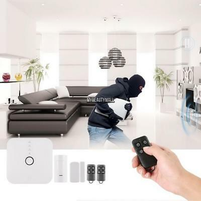 Wireless Wifi Smart Security Alarm Kit Safety APP Remote Control Home & Business