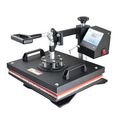 CANADA 8 IN 1 Heat Press Transfer Digital Clamshell T-Shirt Sublimation Machine