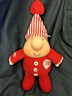 Ziggy My Heart is Yours American Greetings Plush Figure *Excellent Condition