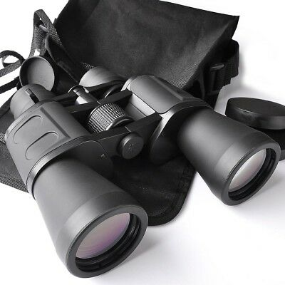 Zoom Binoculars Telescope 50mm Tube 10x-180x100 Waterproof Day Vision