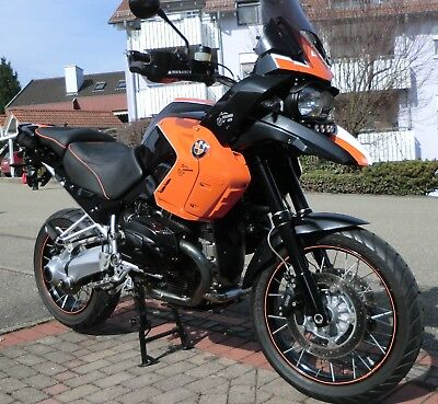 BMW R1200GS Big Bore 125PS 140Nm Black Orange