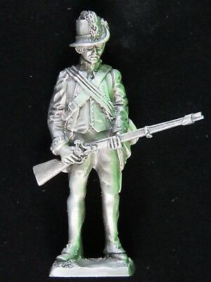 Vintage Franklin Mint Pewter Soldier 1794 Army Private 1983 Figurine Gift