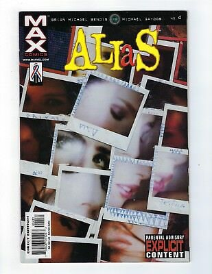 Alias # 4 NM Marvel Max Comics Jessica Jones Netflix