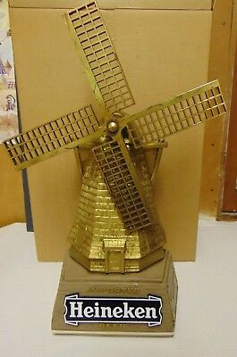 Vintage Advertising Imported Heineken Windmill Beer Bar Sign MINT IN BOX NOS