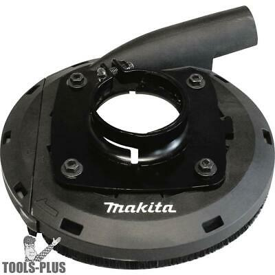 """Makita 195386-6 7"""" Dust Extraction Surface Grinding Shroud New"""