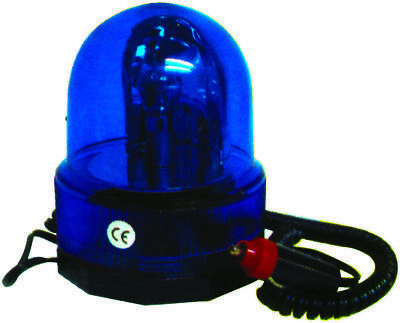 Streetwize SWMBL2 12v Blue Rotating Beacon -Off Road Use