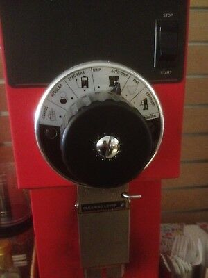 Bunn G3 HD  Coffee Grinder Red color.  GREAT CONDITION!