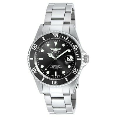 Invicta 8932OB Men's Coin Edge Bezel Black Dial Pro Diver Watch