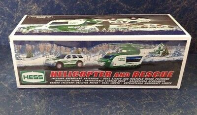 2012 Hess Truck Helicopter And Rescue. Nib
