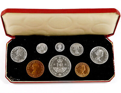 1953 New Zealand Proof Set - Original Display Box - KM# PS6