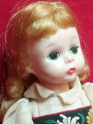 Vintage 1950's Madame Alexander kins Wendy WALKER BLW BKW adult owner Swiss