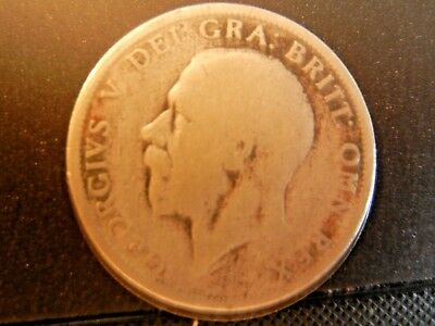 Great Britain 1928 One Florin (Silver)