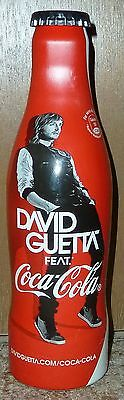 FULL rare COCA-COLA Coke DAVID GUETTA music alu bottle can FRANCE