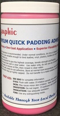 Padding Adhesive Red Premium One Coat Quick Drying New 1 Quart