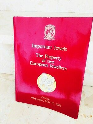 Christie's Genf - Important Jewels - The Property of two European Jewellers