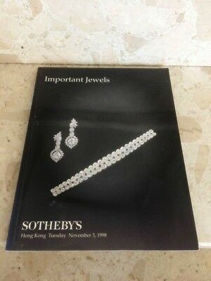 Sotheby's Hong Kong - Important Jewels