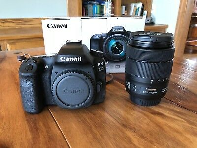 Canon EOS 80D 24.2 MP Digital SLR Camera with EF-S 18-135mm Lens