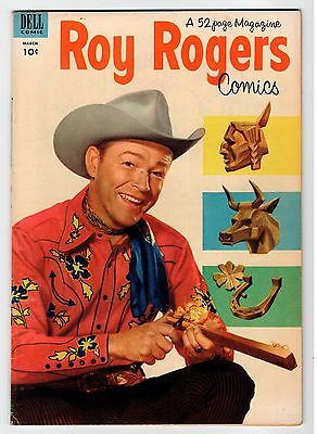 Dell ROY ROGERS COMICS #63 March 1953 Vintage Comic