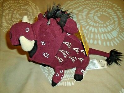 Disney Lion King Pumba Cuddly Toy/bean Bag The Broadway Musical Pumba With Tags