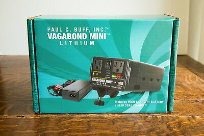 Paul C. Buff Vagabond Mini Lithium Battery with Charger. Slightly used.