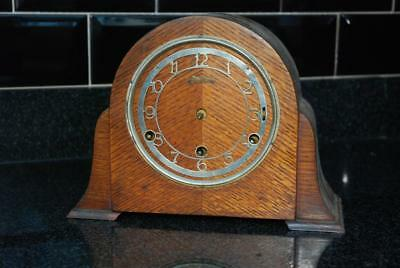 Art Deco 1930s Mantel Clock Spares Or Repairs Parts only
