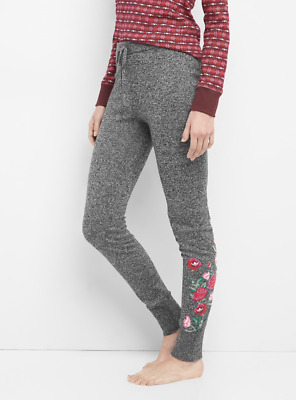 Gap Gap Body Embroidered Marle Sweater Leggings 186391 Small NEW NWT HBX0