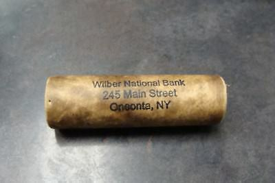 Original Shotgun Vintage Roll of Buffalo Nickels from Wilber N.B, Oneonta NY