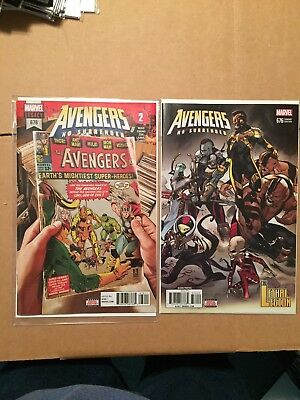 Avengers Legacy 676 Voyager = 1St & 2Nd Print  = 2 Total Copies