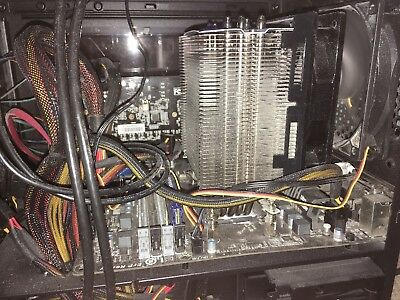AMD FX-8350 WITH Gigabyte motherboard (micro-atx) and CM Hyper 212 EVO  Cooler