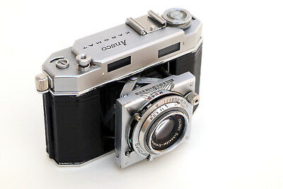 Pretty ANSCO Karomat 35mm camera, all functions work, BUT - see description