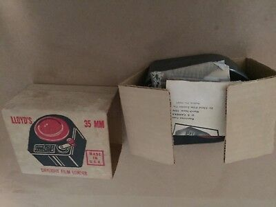 Vintage Lloyd's 35mm Daylight Film Loader with Box & Original Instructions